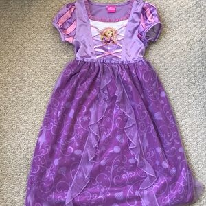 Disney princess Rapunzel sleepwear dress